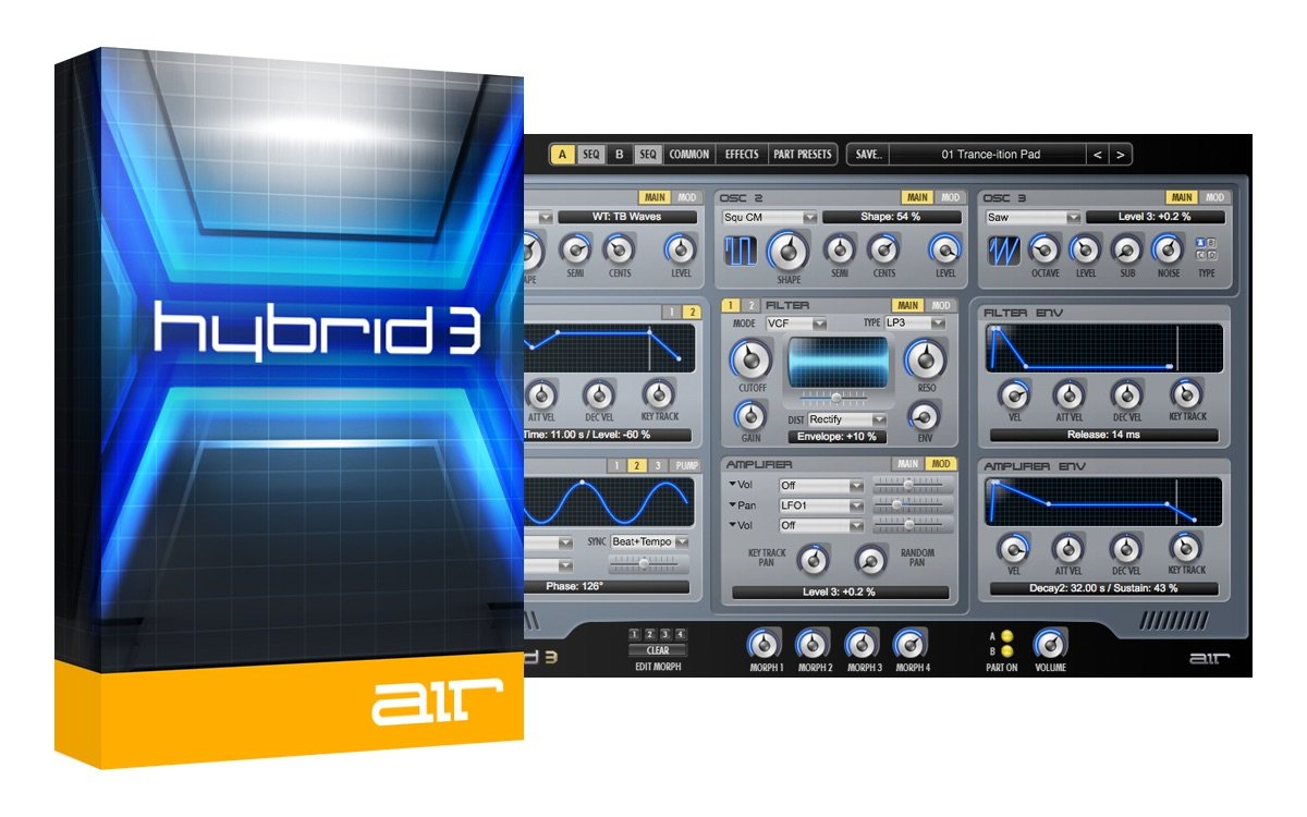 hybrid 3 by air at plugin boutique