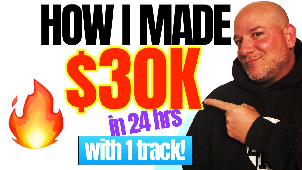 how I made 30k with 1 beat