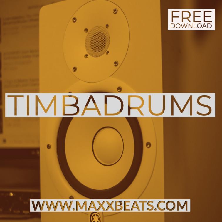 free drum kit TIMBADRUMS www.maxxbeats.com