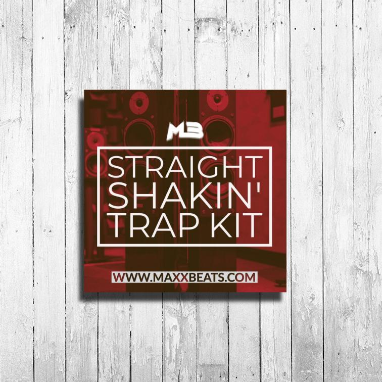 TRAP DRUM KIT - STRAIGHT SHAKIN BY MAXXBEATS
