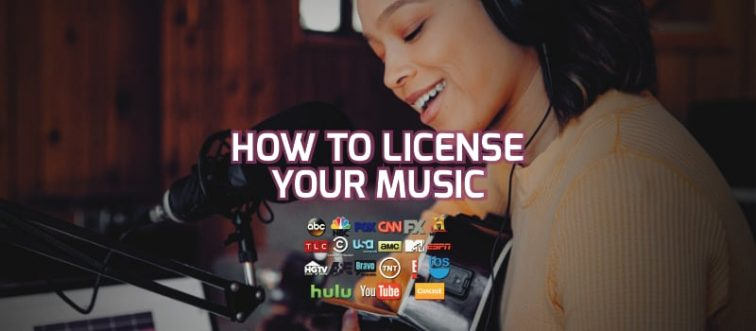 how to license your music sync licensing