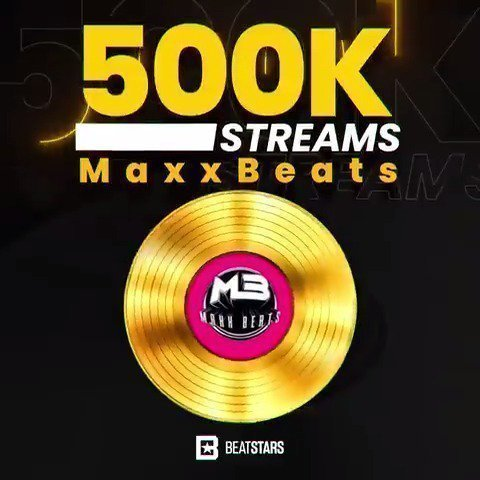 maxxbeats Beatstars beat stream awards gold