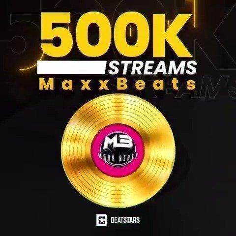 maxxbeats Beatstars beat stream awards gold